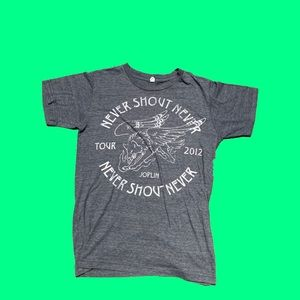 Never Shout Never Band Tee